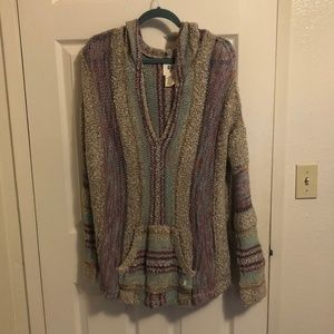 Bohemian Beach Sweater